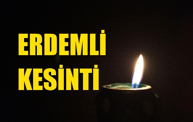 Erdemli Elektrik Kesintisi 08 Ağustos Perşembe