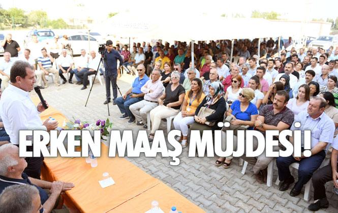 Mersin Büyükşehir Belediyesi Çalışanları, Bayram Öncesi Maaşlarını Alacak