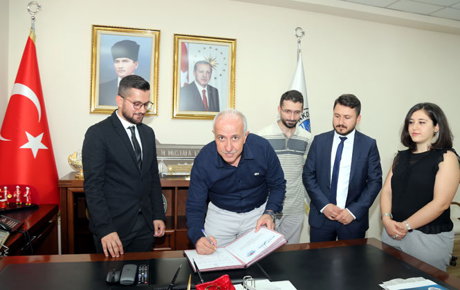 Akdeniz Belediyesi İle MSYD Arasında Protokol İmzalandı