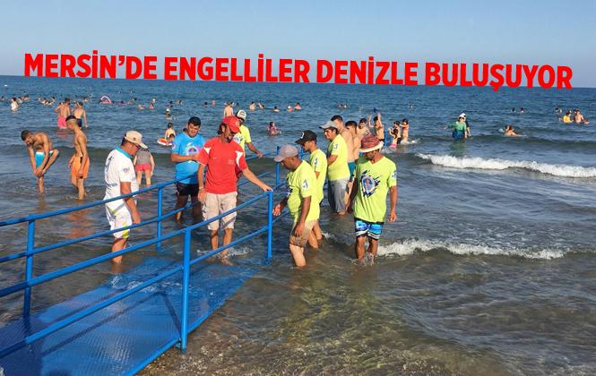 Mersin'de Yemişkumu Engelli Rampasına Kavuştu
