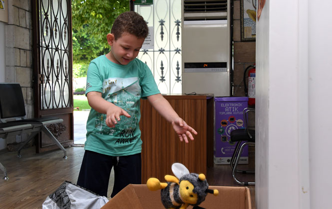 Mersin'de Başlatılan Oyuncak Kampanyasına Çocuklardan Büyük İlgi; Oyuncaklarını Paylaşmanın Mutluluğunu Yaşadılar