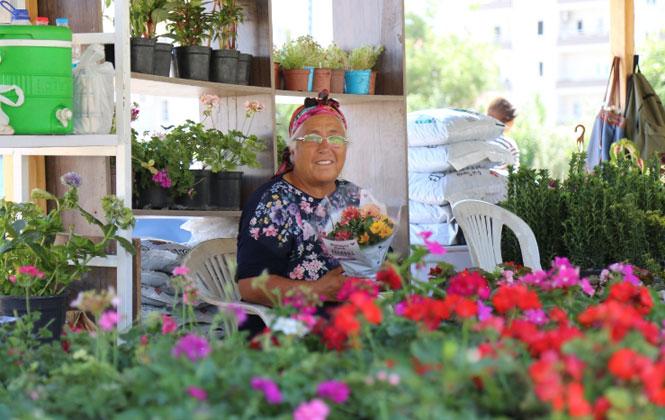 Mezitli Belediyesi, Viranşehir Mahallesi Cengiz Topel Caddesi Üzerinde Mersin'in En Güzel ve En Renkli Pazarını Kurdu