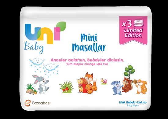 Islak Mendil Uni Baby 3x52 adet
