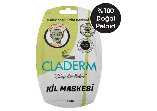 Kil Maskesi Claderm 15 ml