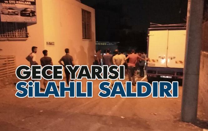 Mersin Tarsus Çağlayan Mahallesinde Meydana Gelen Silahlı Saldırıda 1 Kişi Yaralandı