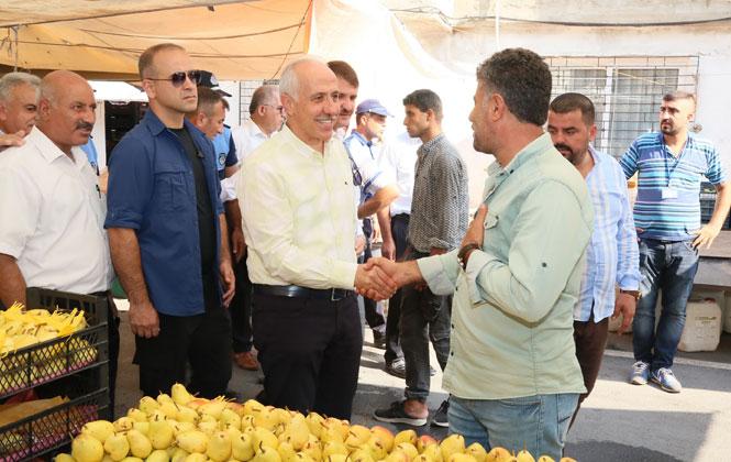 Akdeniz Belediye Başkanı Gültak, Pazarcı Esnafının Teşekkür Kahvaltısına Katıldı