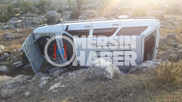 Mersin Tarsus'ta Feci Kaza 5 Yaralı