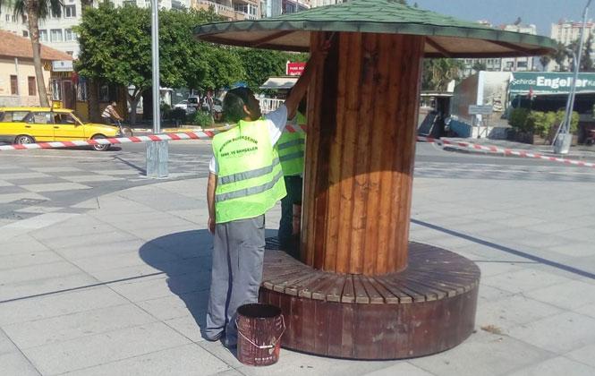 Mersin Kent Genelinde Restorasyon Çalışmaları Sürüyor