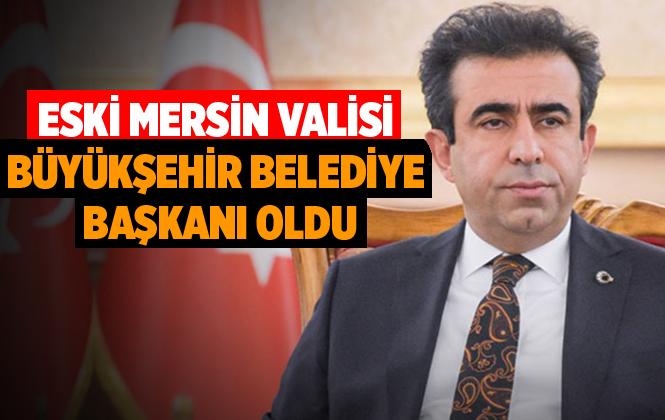 Eski Mersin Valisi Hasan Basri Güzeloğlu Diyarbakır Büyükşehir Belediye Başkanı Oldu