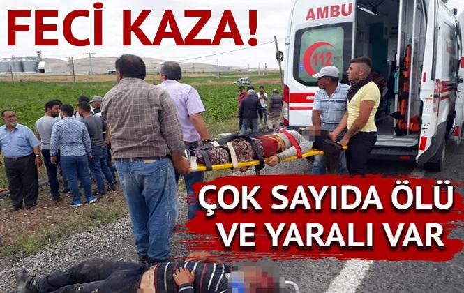 Nevşehir'de Feci Kaza! Çok Sayıda Ölü ve Yaralı Var