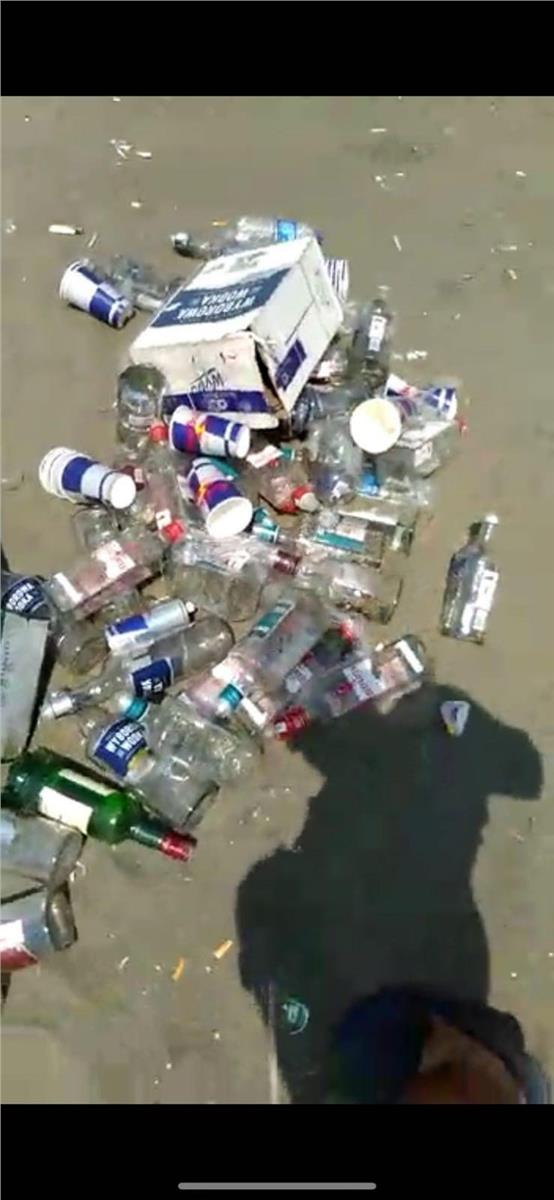 Mersin'deki 4 Günlük Festivali'nin Ardından Geriye Çöpler Kaldı