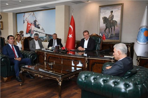 Mersin'den Karayollarında Türkiye'yi Örnek Almak İsteyen Kuzey Irak Heyetine Destek Sözü