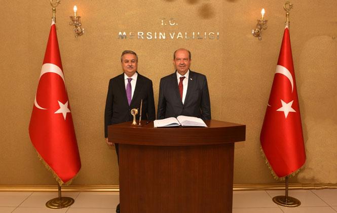 KKTC Başbakanı Tatar, Vali Su'yu Ziyaret Etti
