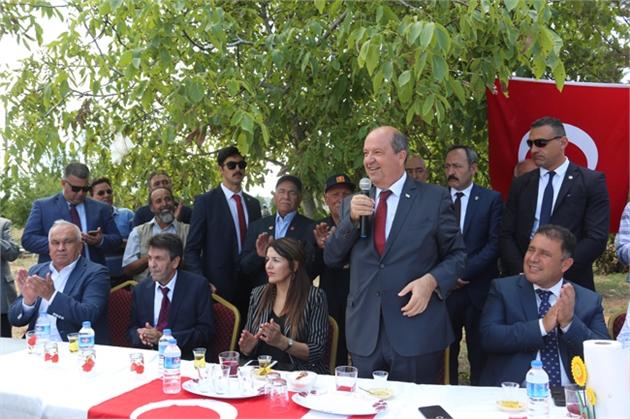 """KKTC Başbakan Tatar, """"Biz, Türk Milletinin Evlatlarıyız"""""""