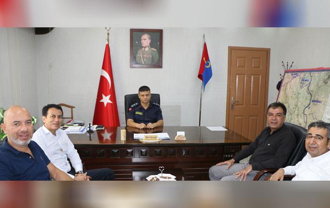 Tarsus TSO'dan Jandarma Komutanına Ziyaret