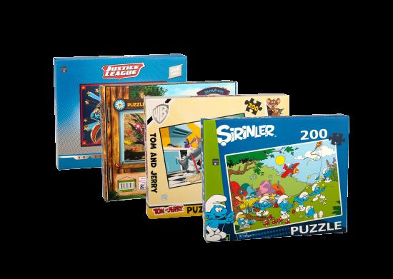 200 Parça Lisanslı Puzzle