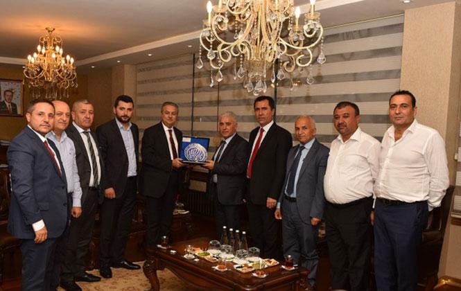 Kuzey Irak Ulaştırma Bakan Yardımcısı İsmayil'den Vali Su'ya Ziyaret