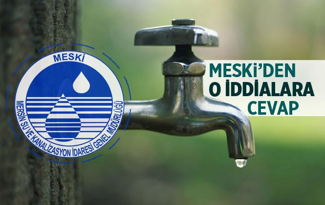MESKİ'den Büyük Kösebalcı Mahallesi'ndeki Su Kesintisiyle İlgili Açıklama