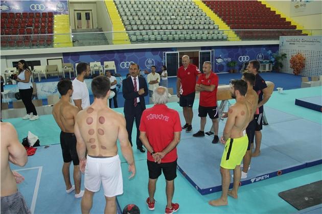 Milli Takım Sporcuları Dünya Kupasına Mersin'de Hazırlanıyor