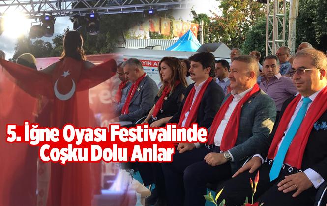 Çamlıyayla'da 5. Geleneksel İğne Oyası Festivali Coşkuyla Geçti