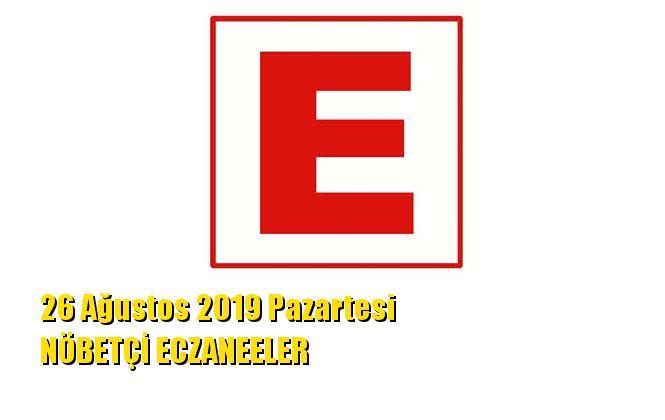 Mersin Nöbetçi Eczaneler 26 Ağustos 2019 Pazartesi