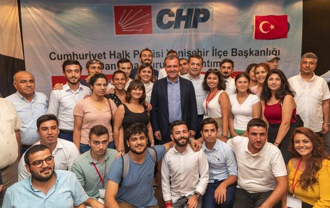 """Partisi CHP'nin Yenişehir İlçe Danışma Kuruluna Katılan Başkan Seçer, Büyüşehir'e """"Kadın Dairesi"""" Geliyor"""