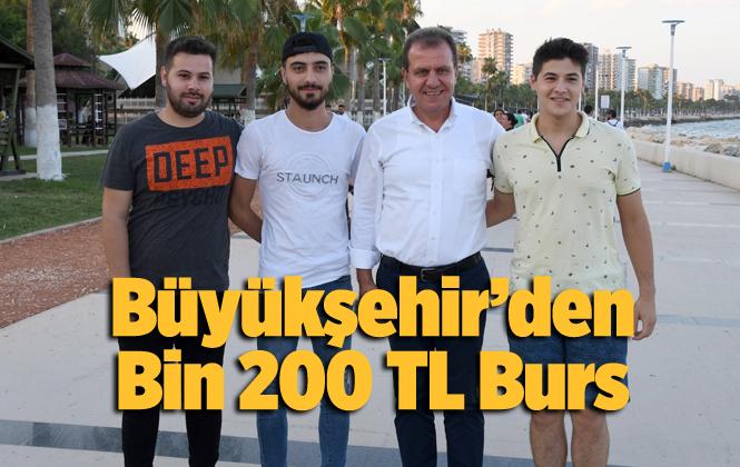 Mersin'de Öğrenim Yardımı 1200 TL Oldu, Başvurular Başladı