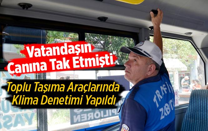 Mersin'de Toplu Taşıma Araçlarının Kontrolleri Sıklaştırıldı