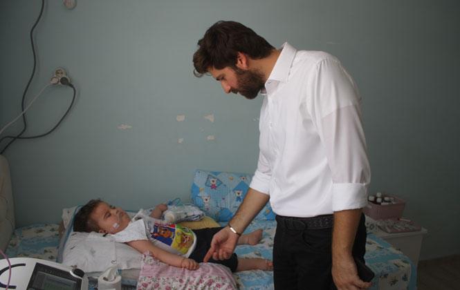 Mersin Büyükşehir'den, Küçük Ömer'e Yardım Eli