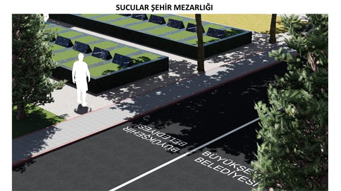 Tarsus'a 50 Yıllık İhtiyacı Karşılayacak Mezarlık Yapılıyor