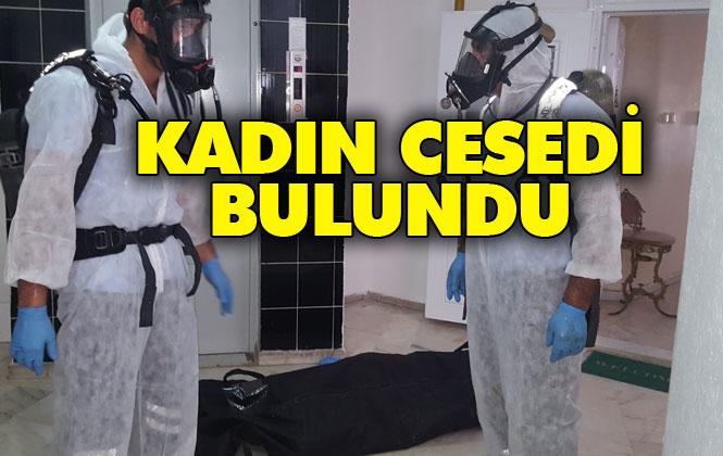 Mersin Yenişehir Tunca Sitesindeki Apartmanın 10. Katındaki Dairede Bir Kadına Ait Ceset Bulundu