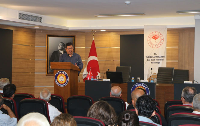 Tarsus TSO'da Çiftçilere Kırsal Kalkınma Destekleri Anlatıldı