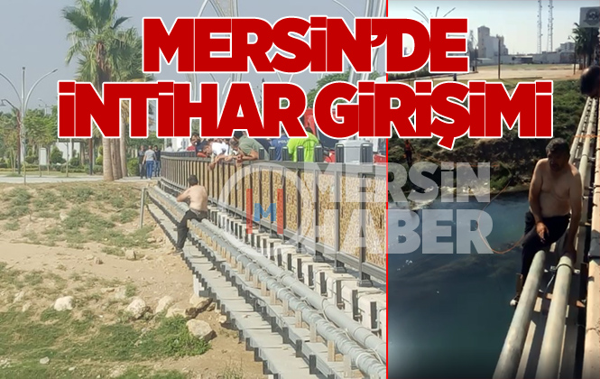 Mersin Tarsus'ta İntihar Girişimi