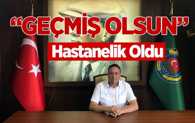 Tarsus Ziraat Odası Başkanı Veyis Avcı Rahatsızlandı