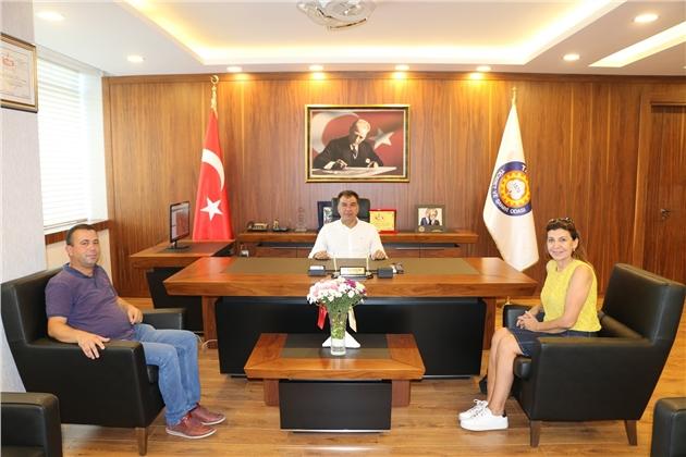 Türkiye Satranç Federasyonu'ndan Ziyaret