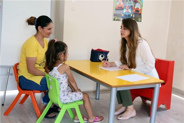 Akdeniz'de Çocuklara Gelişimsel Tarama Testi Hizmeti