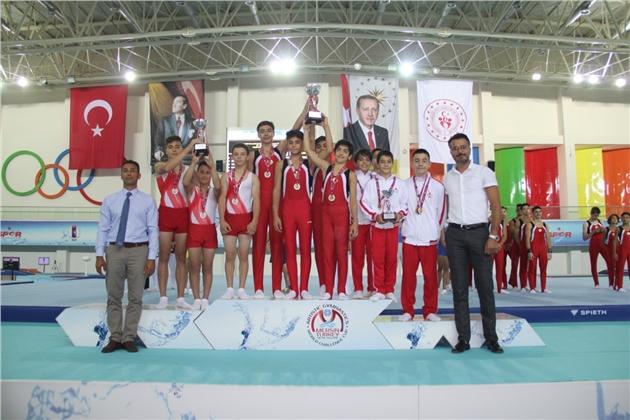 Artistik Cimnastik Türkiye Şampiyonası Sona Erdi