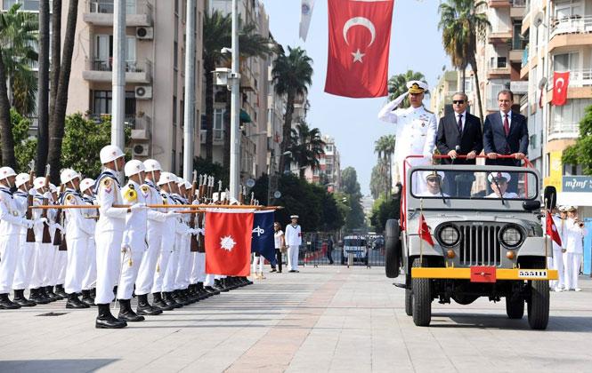 Mersin'de Resmi Törenle 30 Ağustos Zafer Bayramı Kutlamaları Gerçekleşti