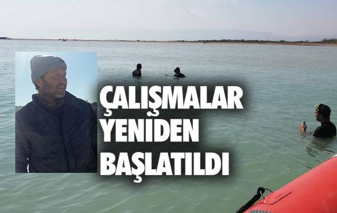 Mersin Silifke Dalyan'da Kaybolan Ahmet Demir'i Arama Çalışmaları 1 Yıl Sonra Yeniden Başlatıldı