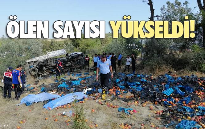 Mersin'de Önceki Gün Arslanköy Yolunda Meydana Gelen Kamyon Kazasında Ölü 4'e Sayısı Yükseldi