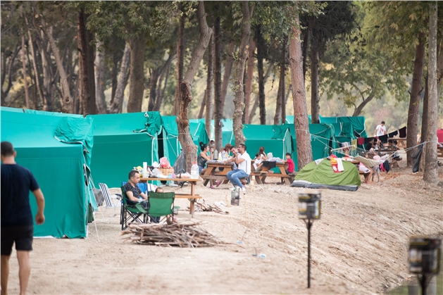 Büyükşehir'den 30 Ağustos'a Özel Zafer Kampı! Zafer Bayramı'nı Tarsus Gençlik Kampı'nda Kutladılar
