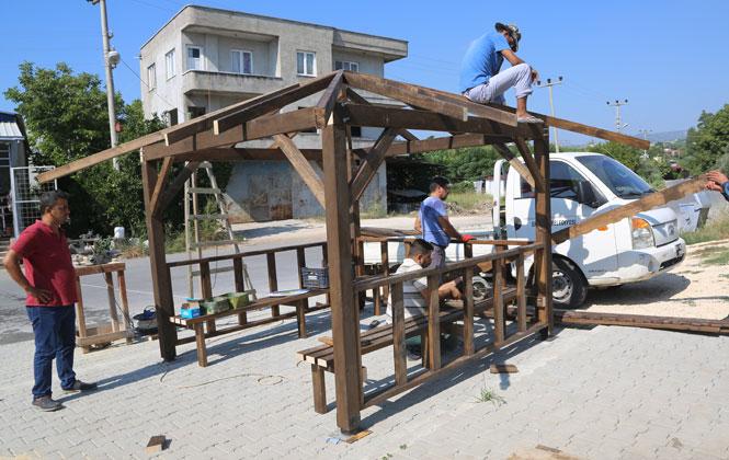 Erdemli Belediyesi, Karapınar Suyu Çeşmesinin Çevre Düzenlemesini Yaptı