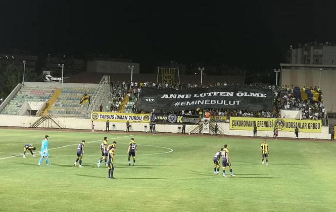 Tarsus İdman Yurdu, Hekimoğlu Spora 3-1 Yenildi