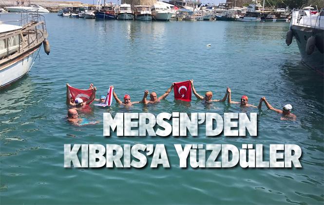 Mersin'den Girne'ye Yüzdüler! Yenişehir Belediyesi'nin Öncülük Ettiği Faaliyet, Uluslar Arası Spor Organizasyonu Olarak Tarihe Geçti