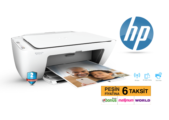HP Wi-Fi Yazıcı Deskjet 2620 All-In-One