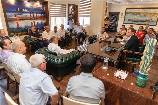CHP Akdeniz İlçe'den Başkan Seçer'e Ziyaret