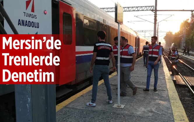 Mersin-Adana Trenlerinde Denetim
