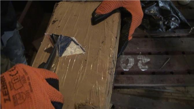 Mersin'de Muz Yüklü Gemiden 83 Kilo Kokain Bulundu