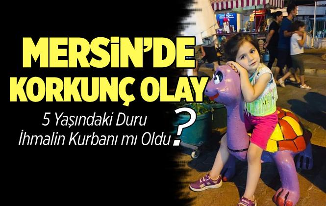 Mersin'de Restoranın Oyun Parkında Elektrik Akımına Kapılan Duru Tan Hayatını Kaybetti