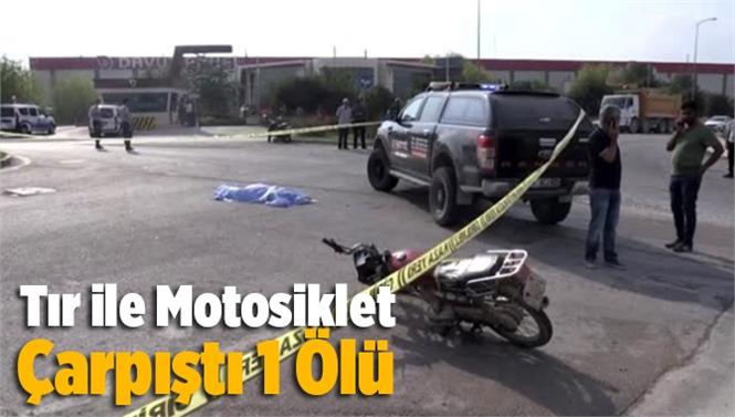 Adana'da Tır İle Çarpışan Motosiklet Sürücüsü Hüseyin Şimşek Hayatını Kaybetti